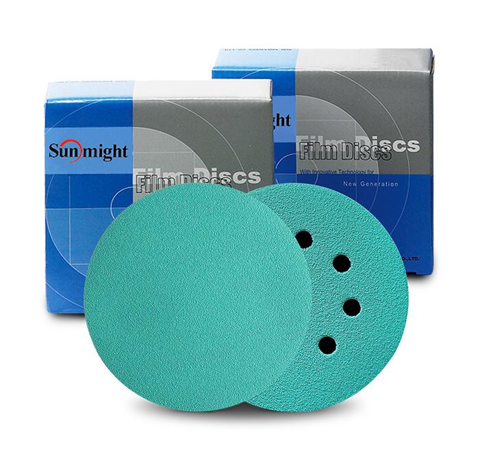 1//Box x 45 yd PSA Sheet Roll 80 Grit Sunmight Film 2-3//4 in